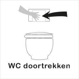 ZW/W - WC doortrekken