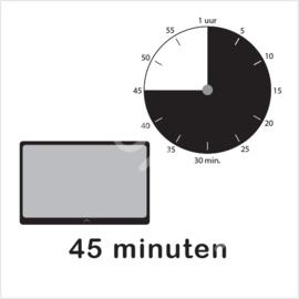 ZW/W - Tablet/I-Pad 45 min.
