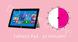Tablet-I-Pad - 30 M/TV