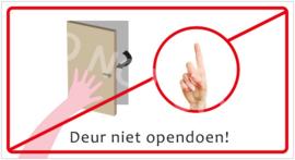 Deur niet opendoen! (HR) T/V
