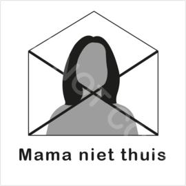 ZW/W - Mama niet thuis