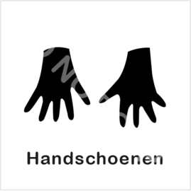 ZW/W - Handschoenen aan