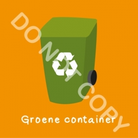 Groene container (K)
