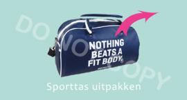 Sporttas uitpakken - M