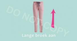 Lange broek aan - M