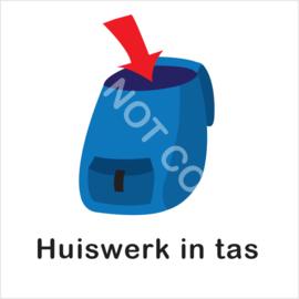 BASIC - Huiswerk in tas