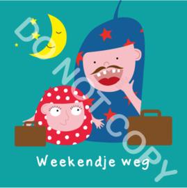 Weekendje weg Mia/Papa (act.)