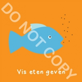 Vis eten geven (K)