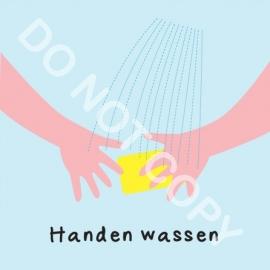 Handen wassen (M)