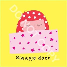 Slaapje doen Mia (O)