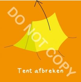 Tent afbreken (K)
