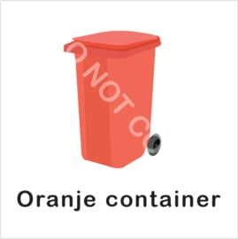 BASIC - Oranje container