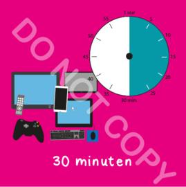 Beeldschermtijd 30 min (BT) - R
