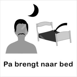ZW/W - Pa brengt naar bed