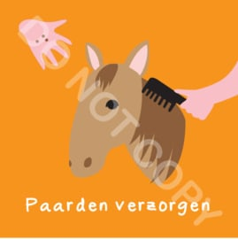 Paarden verzorgen (K)