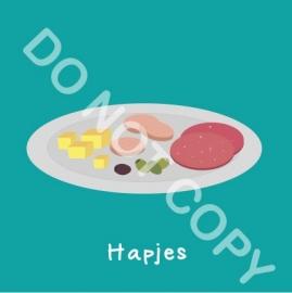 Hapjes (act.)