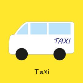 Met de taxi (O)