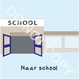 Naar school (M)