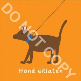 Hond uitlaten (K)