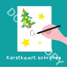 Kerstkaart schrijven (act.)