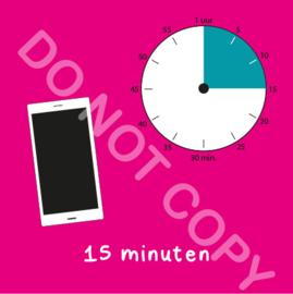 Mobiel tijden 15 min (BT) - R