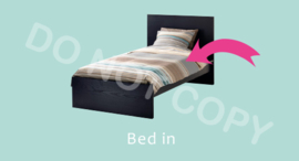 Bed in - M