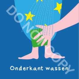 Onderkant wassen (A)