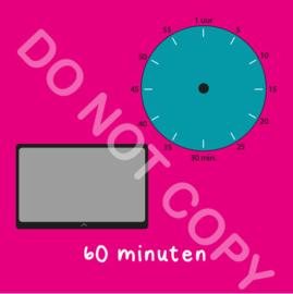 Tablet/I-Pad tijden 60 min (BT) - R