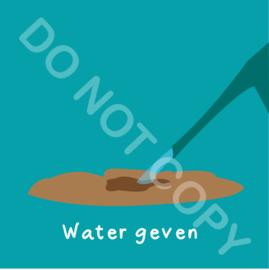 Water geven buiten (act.)
