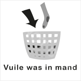 ZW/W - Vuile was in mand
