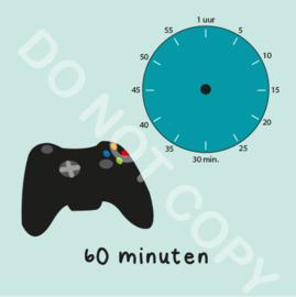 Game tijden 60 min (BT) - M