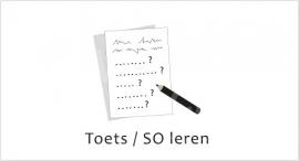 Toets / SO leren - J