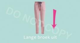 Lange broek uit - M