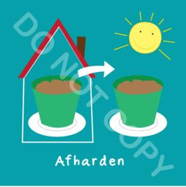 Afharden (act.)