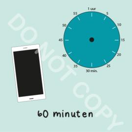 Mobiel tijden 60 min (BT) - M