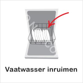 BASIC - Vaatwasser inruimen