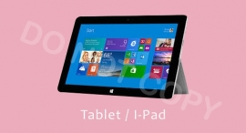 Tablet / I-Pad - T-M/TV
