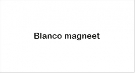 Blanco magneet TV