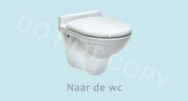 Naar de wc - J