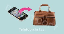 Telefoon in tas - M