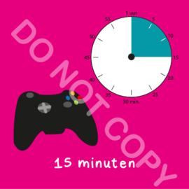 Game tijden 15 min (BT) - R