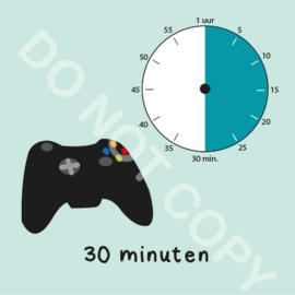 Game tijden 30 min (BT) - M