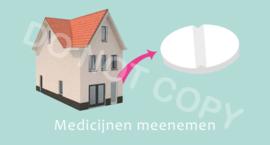 Medicijnen meenemen - M