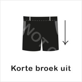 ZW/W - Korte broek uit