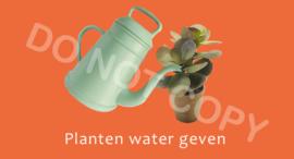 Planten water geven T/V