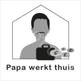 ZW/W - Papa werkt thuis