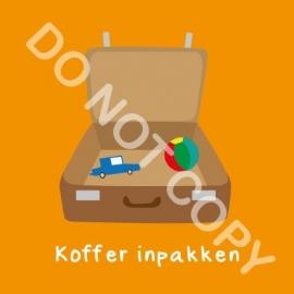 Koffer inpakken (K)