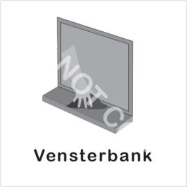 ZW/W - Vensterbank schoonmaken