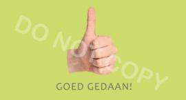 GOED GEDAAN S&H - J
