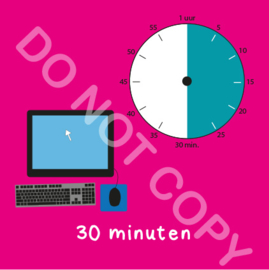 Computer tijden 30 min (BT) - R